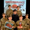Cadets Lead Remembrance Assembly